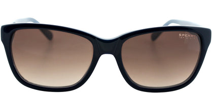 Sperry SP Well Fleet C01 Fashion Plastic Sunglasses - Navy Light Blue with Brown Gradient Lens