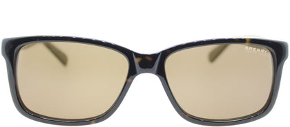 Sperry SP Maverick C01 Rectangle Plastic Sunglasses - Tortoise Olive with Brown Lens