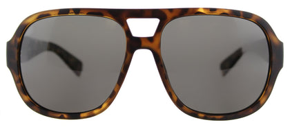 Marc by Marc Jacobs MMJ 483/S Aviator Plastic Sunglasses - Matte Havana with Grey Polarized Lens