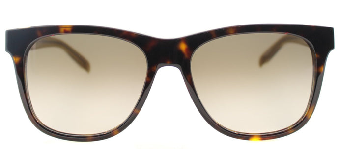 Marc By Marc Jacobs MMJ 360/N Square Plastic Sunglasses - Crystal Havana with Brown Gradient Lens