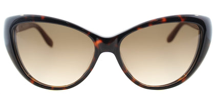 Marc By Marc Jacobs MMJ 366 Cat-Eye Plastic Sunglasses - Havana with Brown Gradient Lens