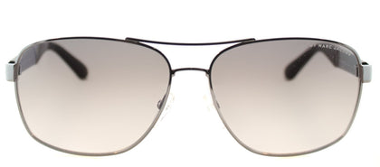 Marc By Marc Jacobs MMJ 431 Aviator Metal Sunglasses - Dark Ruthenium with Grey Gradient Lens