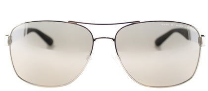 Marc By Marc Jacobs MMJ 431 Aviator Metal Sunglasses - Palladium with Silver Mirror Lens