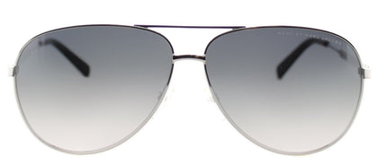 Marc By Marc Jacobs MMJ 444 Aviator Metal Sunglasses - Ruthenium with Grey Gradient Lens