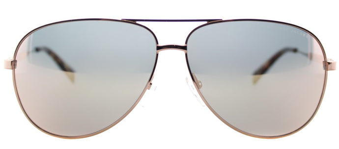 Marc By Marc Jacobs MMJ 444 Aviator Metal Sunglasses - Gold Copper with Gold Mirror Lens