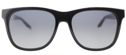 Marc By Marc Jacobs MMJ 360/N Square Plastic Sunglasses - Black Grey Crystal with Grey Gradient Lens