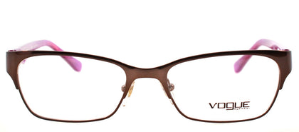 Vogue Eyewear VO 2814 2019 Havana On Violet Pearl Square Plastic Eyeglasses