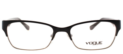 Vogue Eyewear VO 3918 352S Matte Black Rectangle Metal Eyeglasses