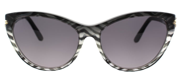 Pucci EP 715S 006 Baby Zebra And Black Cat-Eye Plastic Sunglasses