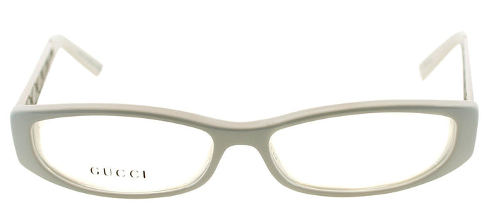 Gucci GG 2975 Rectangle Metal Eyeglasses - Ivory