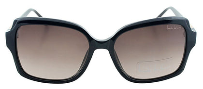 Nicole Miller NM Sheridan Square Metal Sunglasses - Navy with Brown Gradient Lens