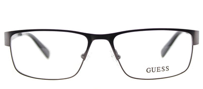 Guess GU 1770 Rectangle Metal Eyeglasses - Gunmetal