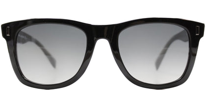 Marc By Marc Jacobs MMJ 335 XH6 Shiny Black Rectangle Plastic Sunglasses