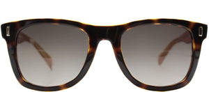 Marc By Marc Jacobs MMJ 335 Rectangle Plastic Sunglasses - Havana with Brown Gradient Lens