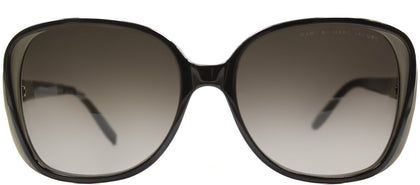 Marc By Marc Jacobs MMJ 383 Rectangle Plastic Sunglasses - Brown Mud Brown with Brown Gradient Lens