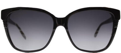 Marc By Marc Jacobs MMJ 391 807 Black Rectangle Plastic Sunglasses