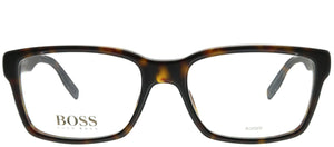 Hugo Boss BOSS 0512 086 Havana Rectangle Plastic Eyeglasses