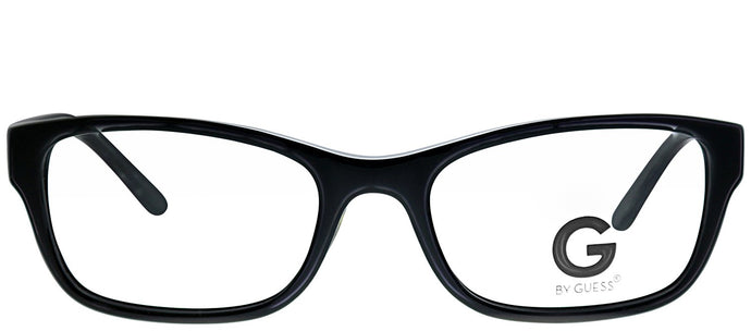 G by Guess GU 105 BLK Black Rectangle Plastic Eyeglasses