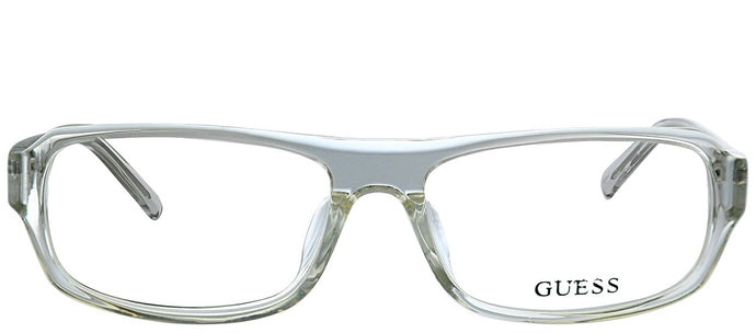 Guess GU 1747 CRY Crystal Rectangle Plastic Eyeglasses