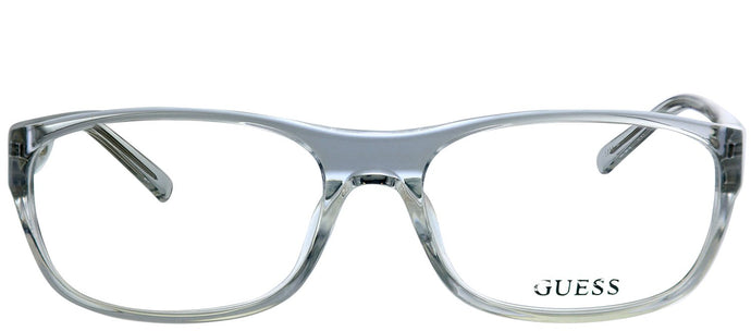 Guess GU 1748 CRY Crystal Rectangle Plastic Eyeglasses