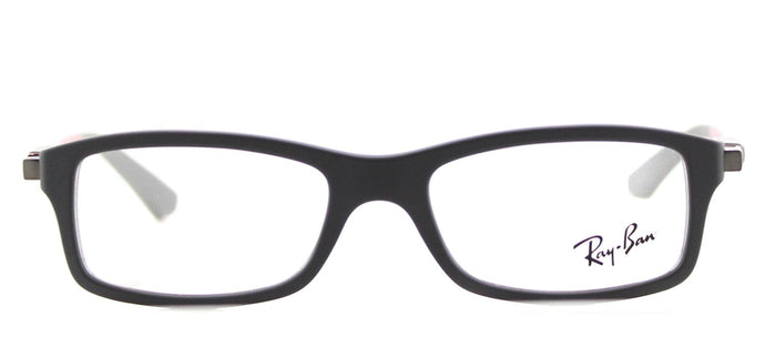 Ray-Ban Junior RY 1546 Rectangle Plastic Eyeglasses - Matte Grey