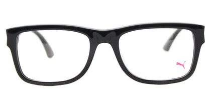 Puma PU 0047O Rectangle Plastic Eyeglasses - Black