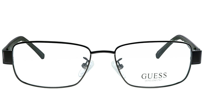 Guess GU 1743 GUNGRN Gunmetal Rectangle Metal Eyeglasses