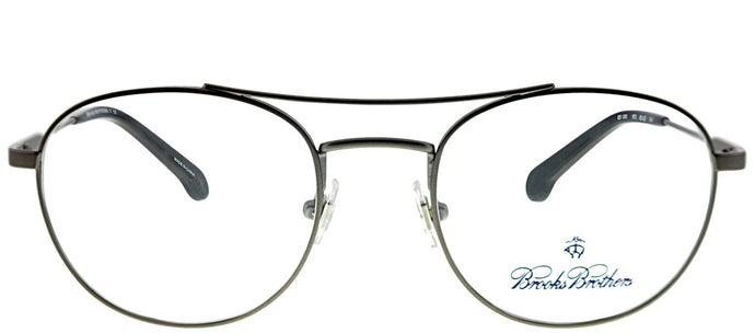 Brooks Brothers BB 1060 1670 Gunmetal Oval Metal Eyeglasses