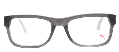 Puma PU 0047O Rectangle Plastic Eyeglasses - Matte Grey