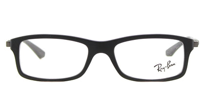 Ray-Ban Junior RY 1546 Rectangle Plastic Eyeglasses - Matte Black