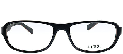 Guess GU 1779 BLK Black Plastic Rectangle Eyeglasses