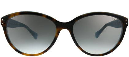 Ralph Ralph Lauren RA 5168 601/11 Tort on Turquoise Cat-Eye Plastic Sunglasses
