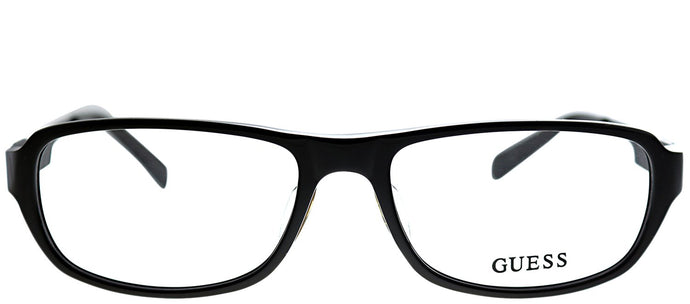 Guess GU 1779 BRN Dark Brown Plastic Rectangle Eyeglasses