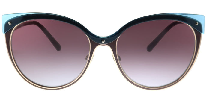 Burberry BE 3096 126590 Red Violet Cat-Eye Plastic Sunglasses