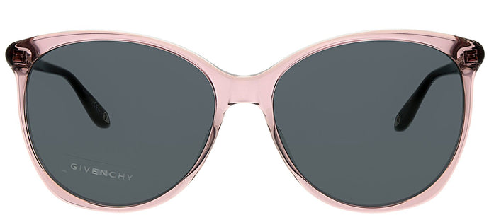 Givenchy GV 7095 35J Pink Oval Plastic Sunglasses