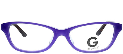G by Guess GU 103 PUR Purple Cat-Eye Plastic Eyeglasses