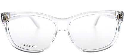 Gucci GG 3543 Rectangle Plastic Eyeglasses - Crystal