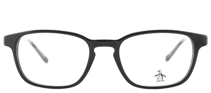 Original Penguin The Take A Mulligan BT Black Tortoise Rectangle Plastic Eyeglasses