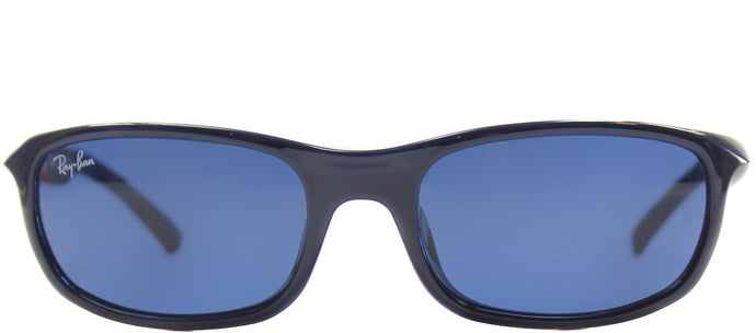 Ray-Ban Jr RJ 9056 Sport Plastic Sunglasses - Blue with Blue Lens