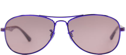 Ray-Ban RJ 9529 60747Z Dark Violet Aviator Metal Sunglasses