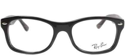 Ray-Ban Jr RY 1528 Square Plastic Eyeglasses - Black