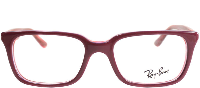 Ray-Ban Jr RY 1532 3590 Top Fuxia on Pink Square Plastic Eyeglasses