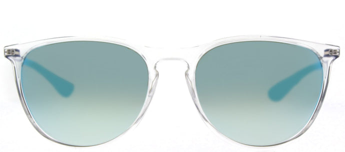 Ray-Ban Childrens Erika RJ 9060S 7029B7 Trasparent Round Plastic Sunglasses