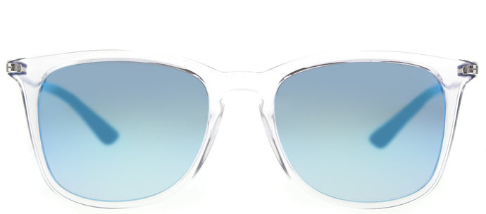 Ray-Ban Childrens Wayfarer RJ 9063S 7029B7 Trasparent Square Plastic Sunglasses