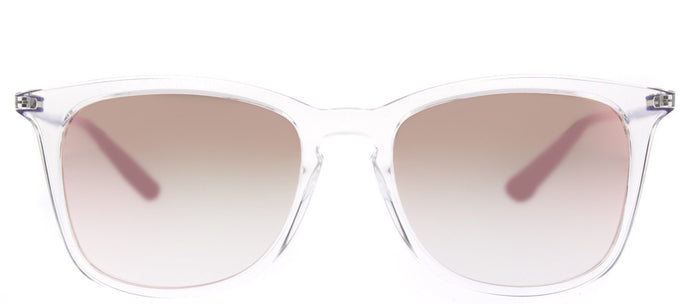 Ray-Ban Childrens Wayfarer RJ 9063S 7030B9 Trasparent Square Plastic Sunglasses