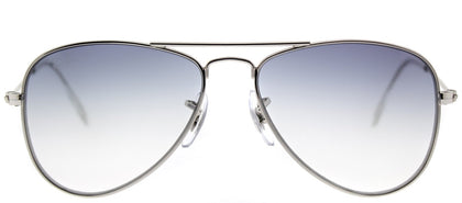 Ray-Ban Childrens Aviator RJ 9506S 212/19 Silver Aviator Metal Sunglasses