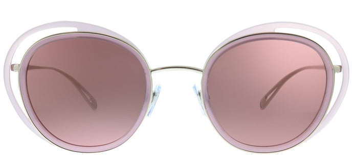 Giorgio Armani AR 6081 301175 Opal Violet Bronze Cat-Eye Metal Sunglasses