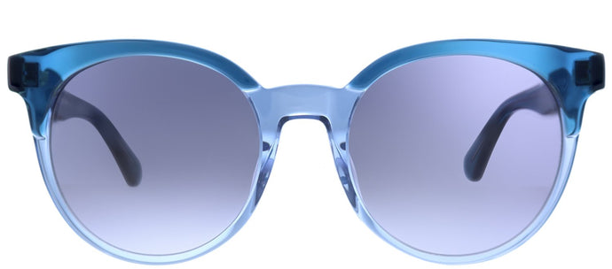 Kate Spade Abianne/S OXZ Blue Crystal Square Plastic Sunglasses
