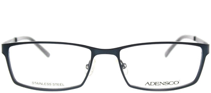 Adensco Adensco 111 DA4 Navy Rectangle Metal Eyeglasses