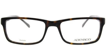 Adensco Adensco 112 086 Dark Havana Rectangle Plastic Eyeglasses